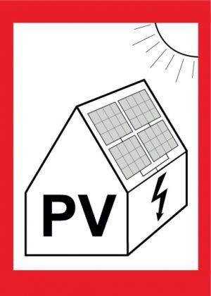 PV-Aufkleber