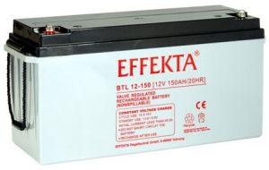 Effekta Blei Vlies Qualitäts Batterie BTL 12 100L PLASSER