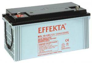 Effekta Blei Vlies Qualitäts Batterie BTL 12 200 PLASSER